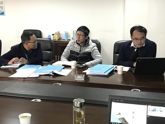 海建科院领导率团莅临湖北云沛科技考察交流